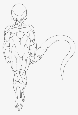Dragon Ball Z Frieza Coloring Pages Png Image Transparent Png Free Download On Seekpng