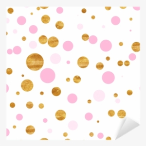 Gold Confetti Dots Background Png For Kids Gold Confetti