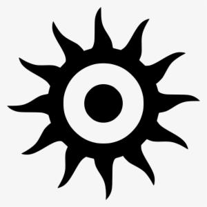 Outline Figure Five Pentagram Tattoo Geometric Pentagram