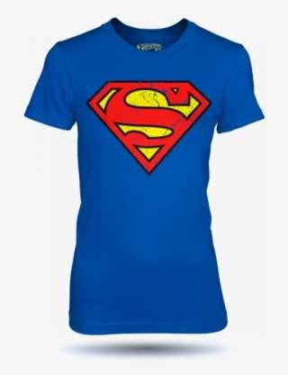 5bfb38972b70 Tričko Superman Distressed Dámské