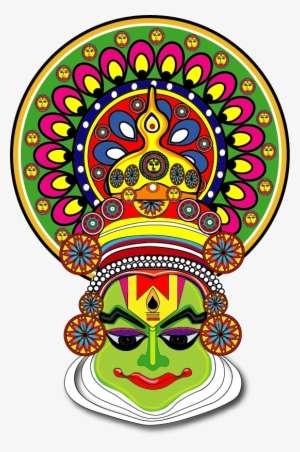 Shoppable Logo Kerala Kathakali Face Drawing Png Image Transparent Png Free Download On Seekpng