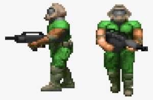 Doomguy The Planet Of Doom Doom Guy Logo Png Image