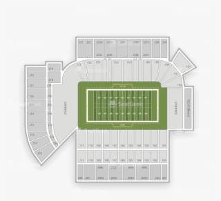 Georgia Tech Football Stadium Seating Map Floor Plan Png Image Transparent Png Free Download On Seekpng
