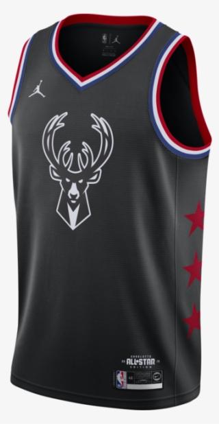 529fb9643bd Nike Giannis Antetokounmpo Milwaukee Bucks All-star - Okc Thunder Jersey  2019