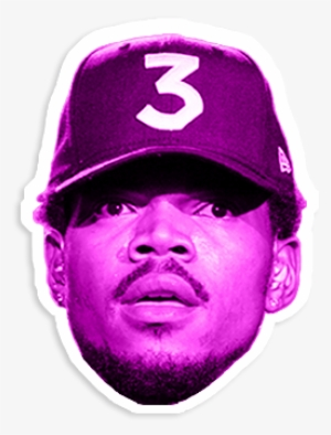 4819df03ab6d4 Clipart Royalty Free Stock Is This Rap S Real Golden - Chance The Rapper  Head Png