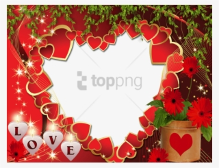 love photo frame download pic