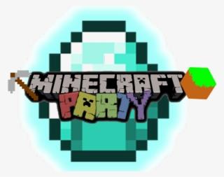 Minecraft Clipart Transparent Background Minecraft Party Logo