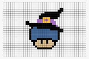 Pixel Art Mario Mushroom Png Image Transparent Png Free Download