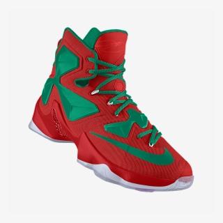 e3c36c3d1abd Lebron James Xiii Christmas Shoes - Nikeid Lebron 13 Christmas · PNG
