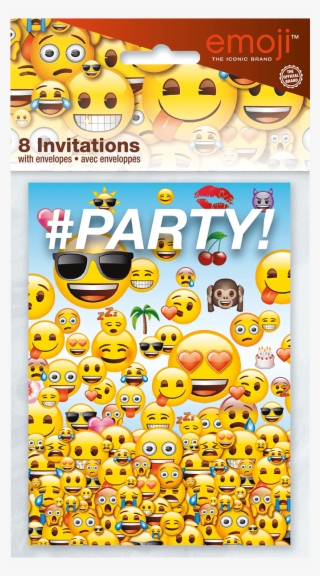 Emoji Party Invite Packaged